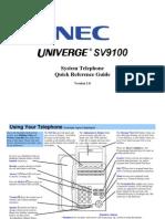 SV9100 - MLT User Guide R1.0 (Navigation) En