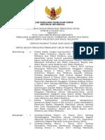 Perbawaslu No. 8 Tahun 2015 tentang Tata Cara Penyelesaian Sengketa Pemilihan Gubernur dan Wakil Gubernur, Bupati dan Wakil Bupati serta Walikota dan Wakil Walikota.PDF