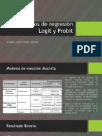 Modelos de Regresión Logit y Probit