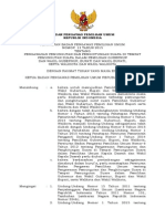 Perbawaslu No. 13 Tahun 2015 ttg Pengawasan Pungut Hitung Pemilihan.pdf