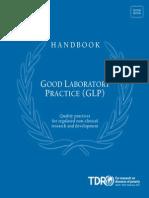 WHO GLP handbook