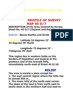 Introduction to Topographical Maps Complete Notes