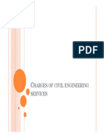 Charges of Civil Engineering Services