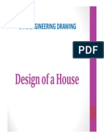 Civil Engineering Drwg-Design of a House