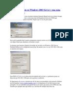 Crear Un Dominio en Windows 2003
