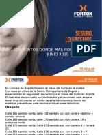 Recomendaciones de Seguridad Sitios Donde Mas Roban en Bogota-junio 2015