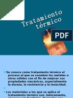 2.1 Tratamiento térmico