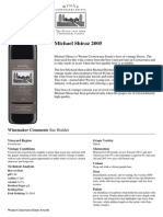 Wynns Michael Shiraz 2005