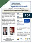 3rd Annual ACS Entrepreneurial Summit, Sept. 17-18, 2015 in Washington, DC