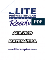 ELITE Resolve Afa2009 Mat