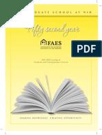 2011-12 Faes Grad School Catalog