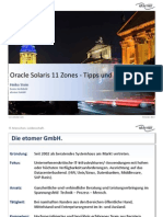 Oracle Solaris 11 Zones Tipps Und Tricks