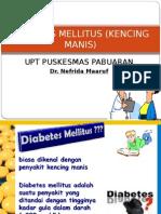 Diabetes Mellitus (Kencing Manis)-Dr. Nefrida