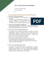 Promocion y Constitucion de Empresa