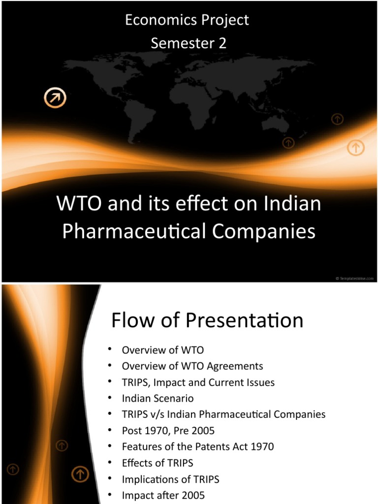 wto and its impact on indian