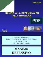 N_14_MANEJO_A_LA_DEFENSIVA_EN_ALTA_MONTAÑA.ppt