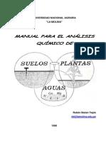 CAPITULO IV Manual de Analisis de Suelos
