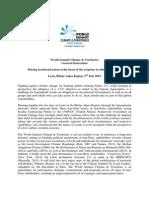 ClimateSummit Declaration 20 July