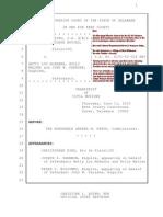 KingCast v. McKenna 11 June 2015 Annotated Free Press First Amendment Transcript