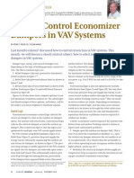 ASHRAE Journal - Select & Control Economizer Dampers in VAV Systems - Taylor