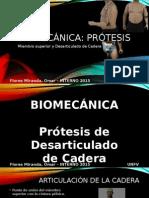 Biomecánica - Prótesis - Flores Miranda Omar