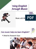 Learning English Thru Music