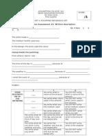 15-16 Gr4 Written Assessments