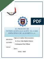 Topicos de Micro Internacionalizacion Alicorp