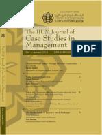 IIUM journal of case studies in management