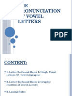 FA-The Pronunciation of Vowel Letters