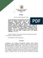 Josefina Garcia-Padilla, Dr Aurora Parong vs DND Secretary Juan Ponce Enrile (1983, 121 SCRA 472)
