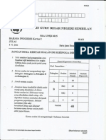 Ujian Percubaan UPSR 2015 - N9 - English Kertas 2