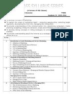 Syllabus of BBI (3rd Year)