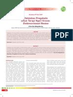 Efektivitas Pregabalin Untuk Terapi Nyeri Kronis-Evidence-based Review