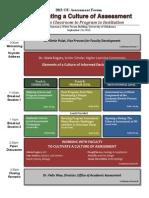 Forum Agenda - At a Glance