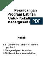 M15 Perancangan Program Latihan Untuk Kekalkan Kecergasan Diri.ppt