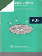 Analisis Del Paisaje, Ecologia urbana