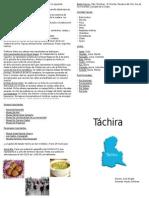 Diptico de Tachira