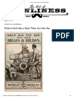How to Feel Like a Man _ the Art of Manliness