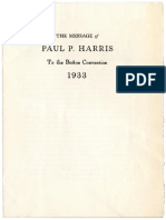 Pharris Boston Convention 1933