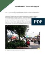 Placemaking, Urbanismo e o Futuro Dos Espaços Públicos
