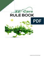 EFFI-CARS 2016 Rule Book - Updated
