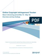 Copyright Infringement Tracker Survey, 5th Wave (Full Text Report)