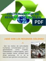 contaminacion por residuos solidos en lima
