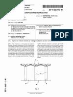 Patent EP1605113A1