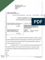 Swarberg v. Menu Foods Holding Inc et al - Document No. 34