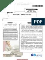 Assist Administrativo 3