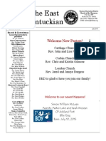 East Kentuckian Newsletter