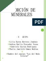 2A Absorción de Minerales -Las del Moño Colorado-
