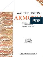 Walter Piston - Armonia Italiano